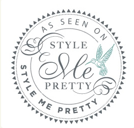 Featured on StyleMe Pretty!