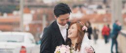 Chinese elopement wedding in Prague - Travy and Stephen