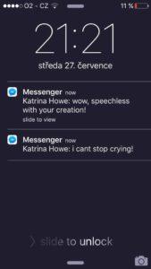 Reakce nevěsty Kaach