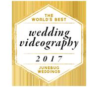 Junebug weddings ocenění za svatební video