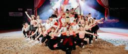 Maturitní předtančení - Cirkus GJJ 4.B (2.3.2019)